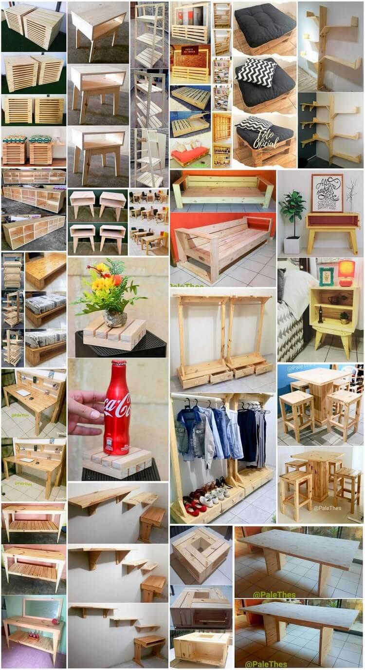 Delightful DIY Wood Pallet Home Furniture Designs