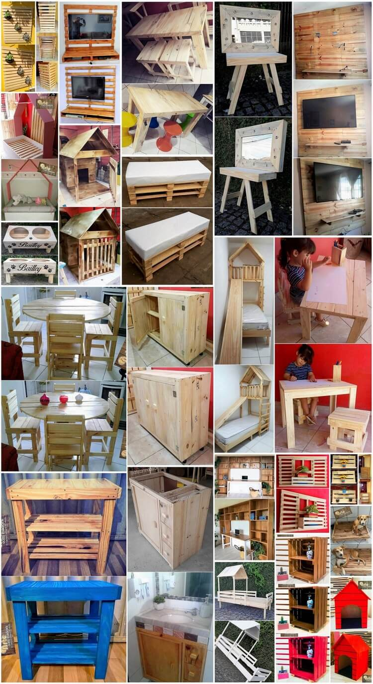 Highly Rated DIY Creations with Wood Pallets