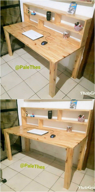 Pallet Study Desk Table