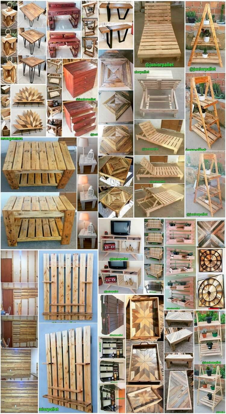 Improbable DIY Crafting Ideas with Shipping Pallets