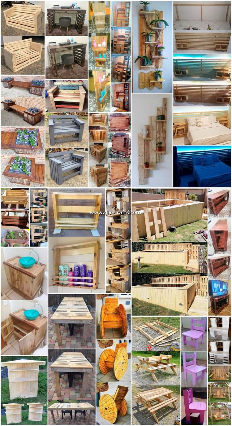 Cheap and Easy Pallet Projects You Can Make