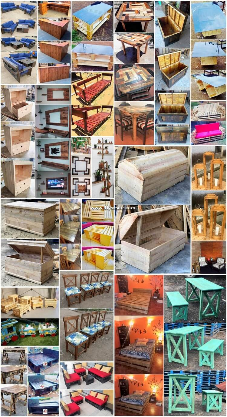Don't Miss These Very Attractive DIY Pallet Ideas