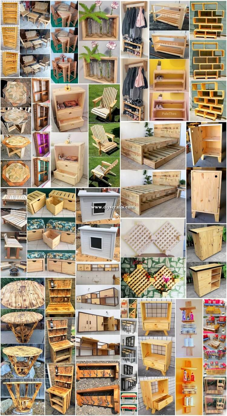 Elegant DIY Crafting Ideas with Shipping Pallets