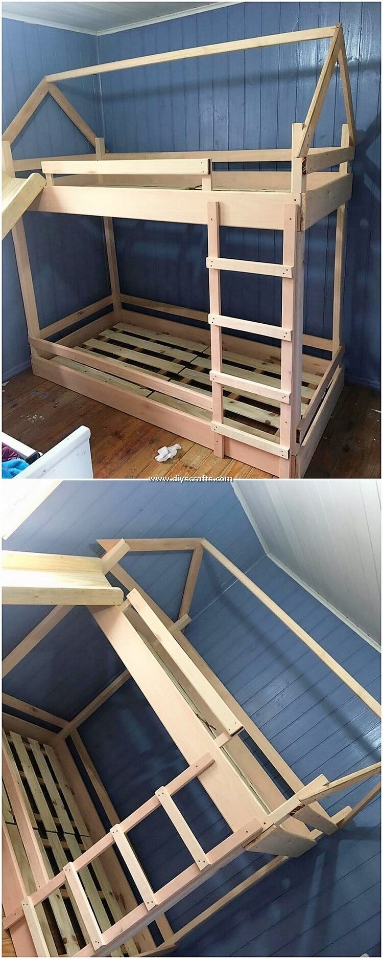 Pallet-Bunk-Bed