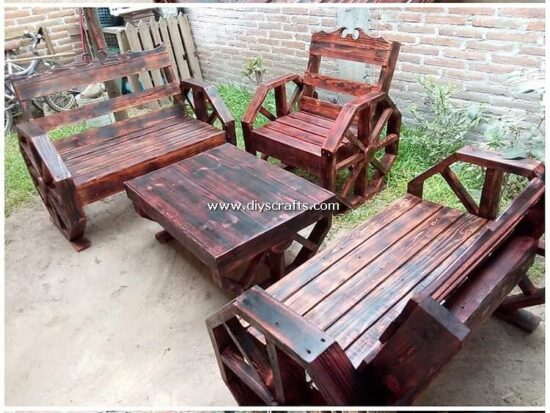 Pallet-Wood-Outdoor-Furniture