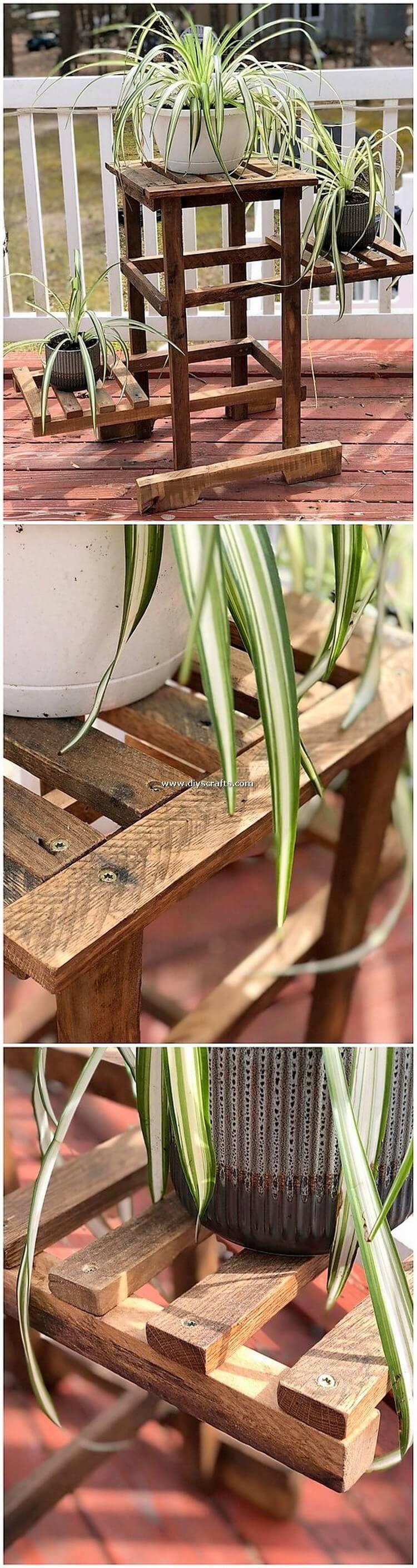 Pallet-Wood-Pots-Stand