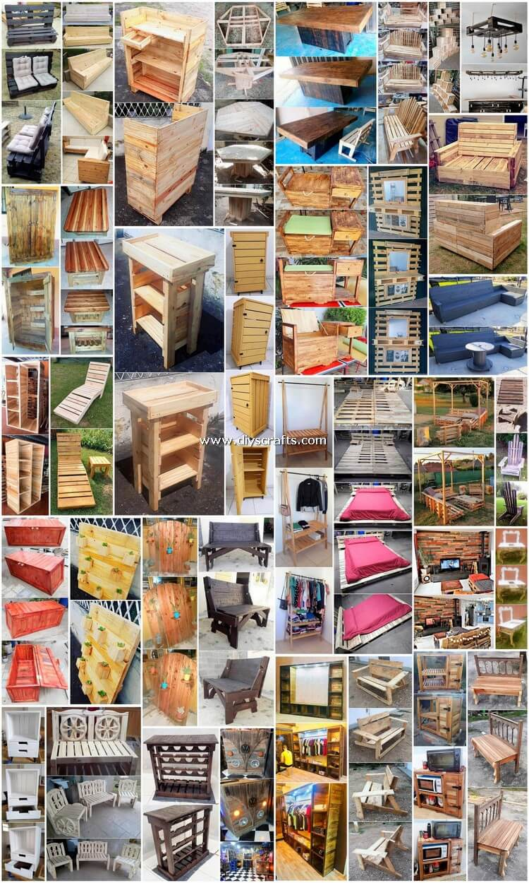 35+ Inexpensive and Easy DIY Shipping Pallet Ideas