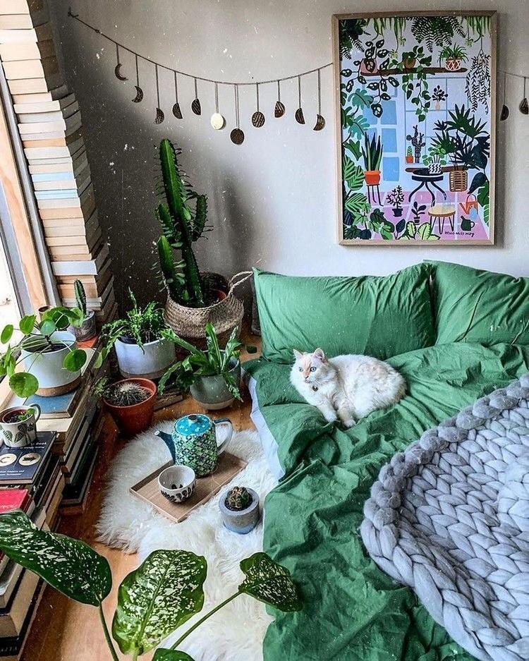 Bohemian Interior Decor (13)
