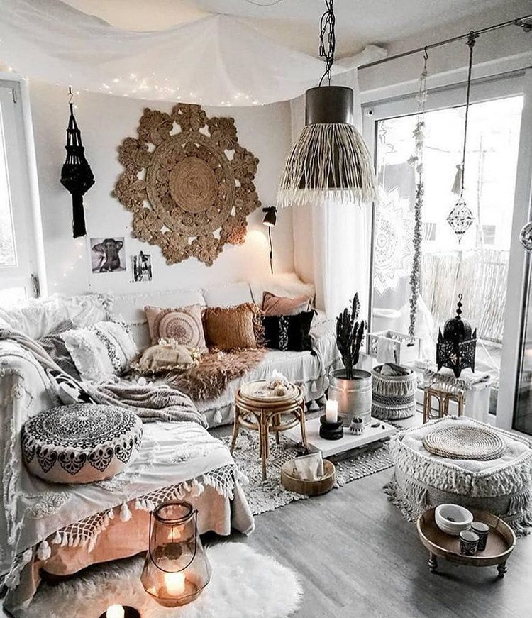 Bohemian Interior Decor (16)