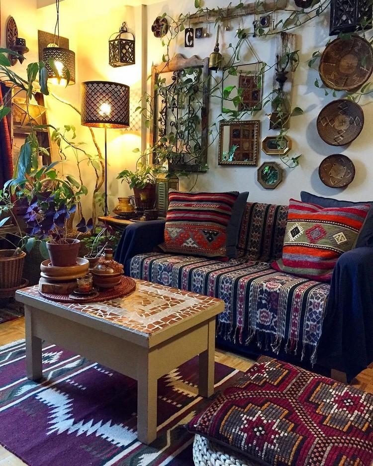 Bohemian Interior Decor (19)
