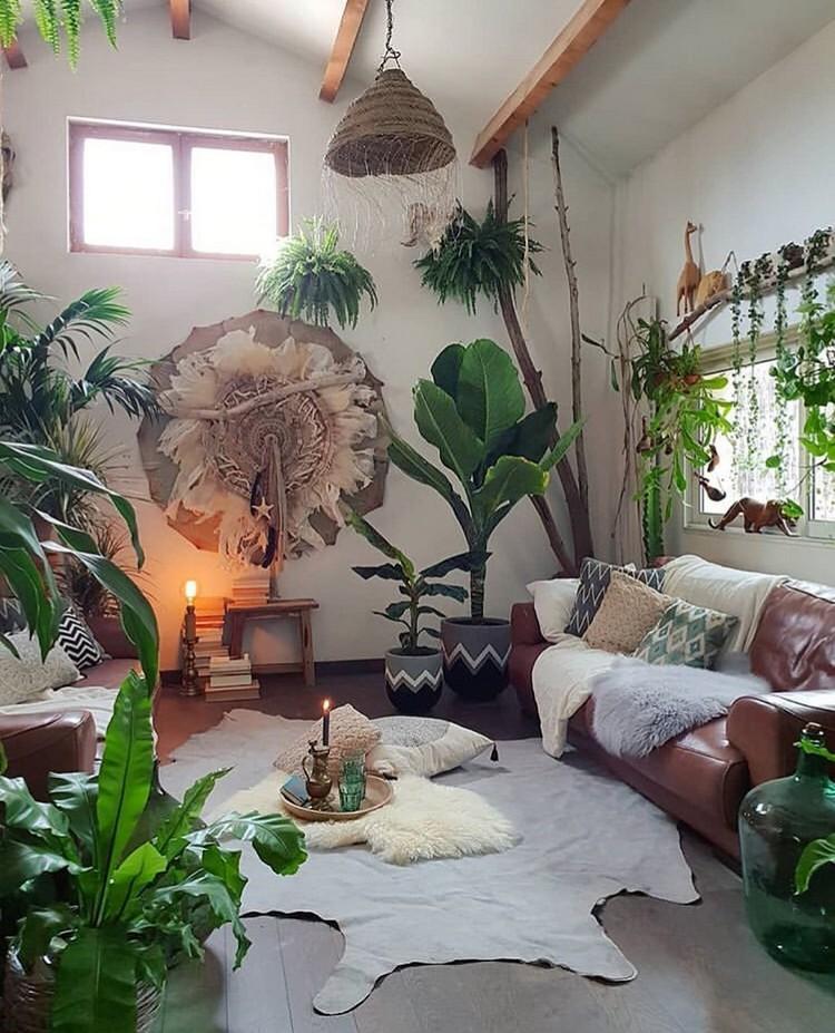 Bohemian Interior Decor (22)