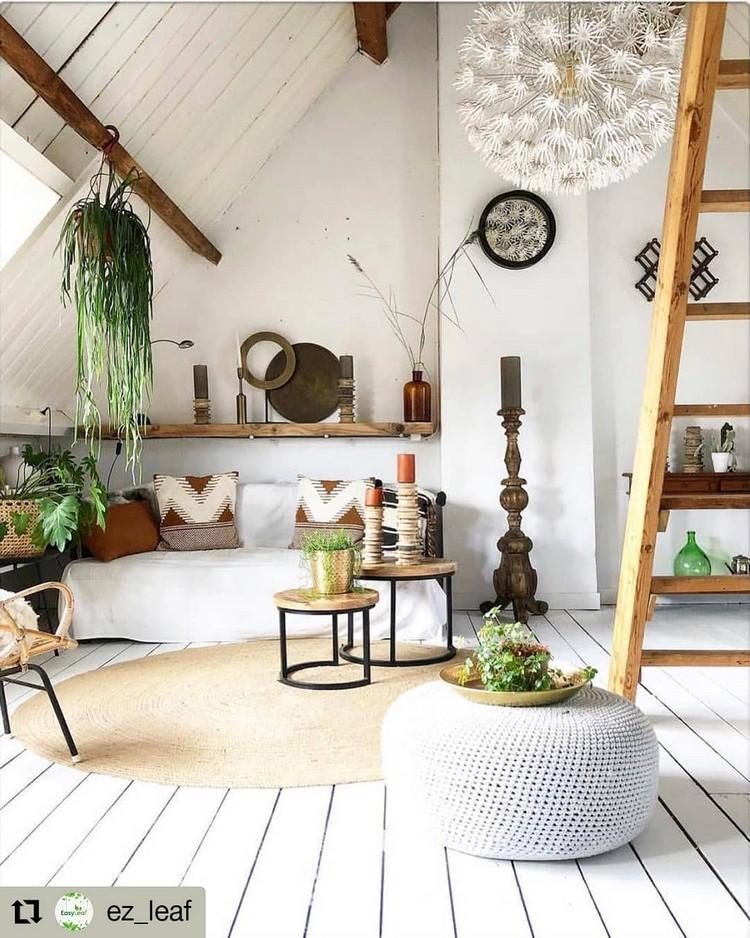 Bohemian Interior Decor (27)