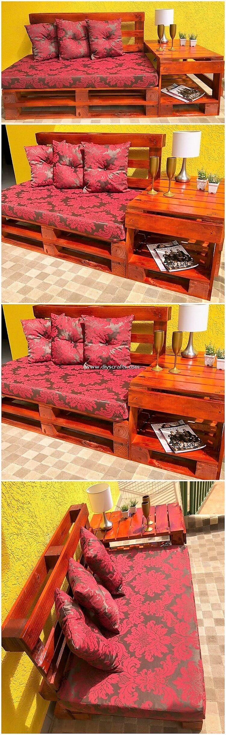 Pallet-Bench-with-Side-Table
