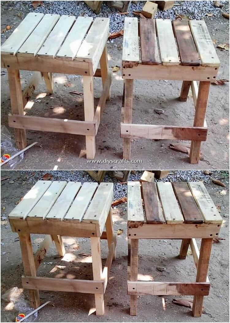 Pallet-Side-Tables