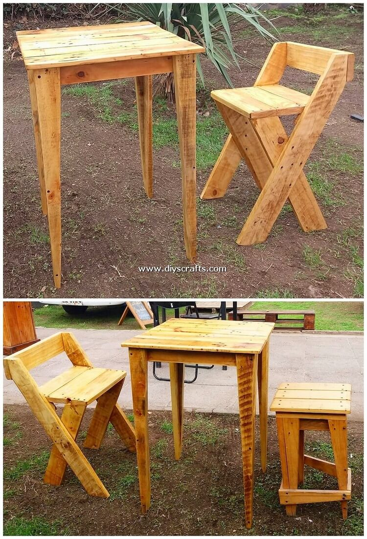 Pallet-Table-and-Chair