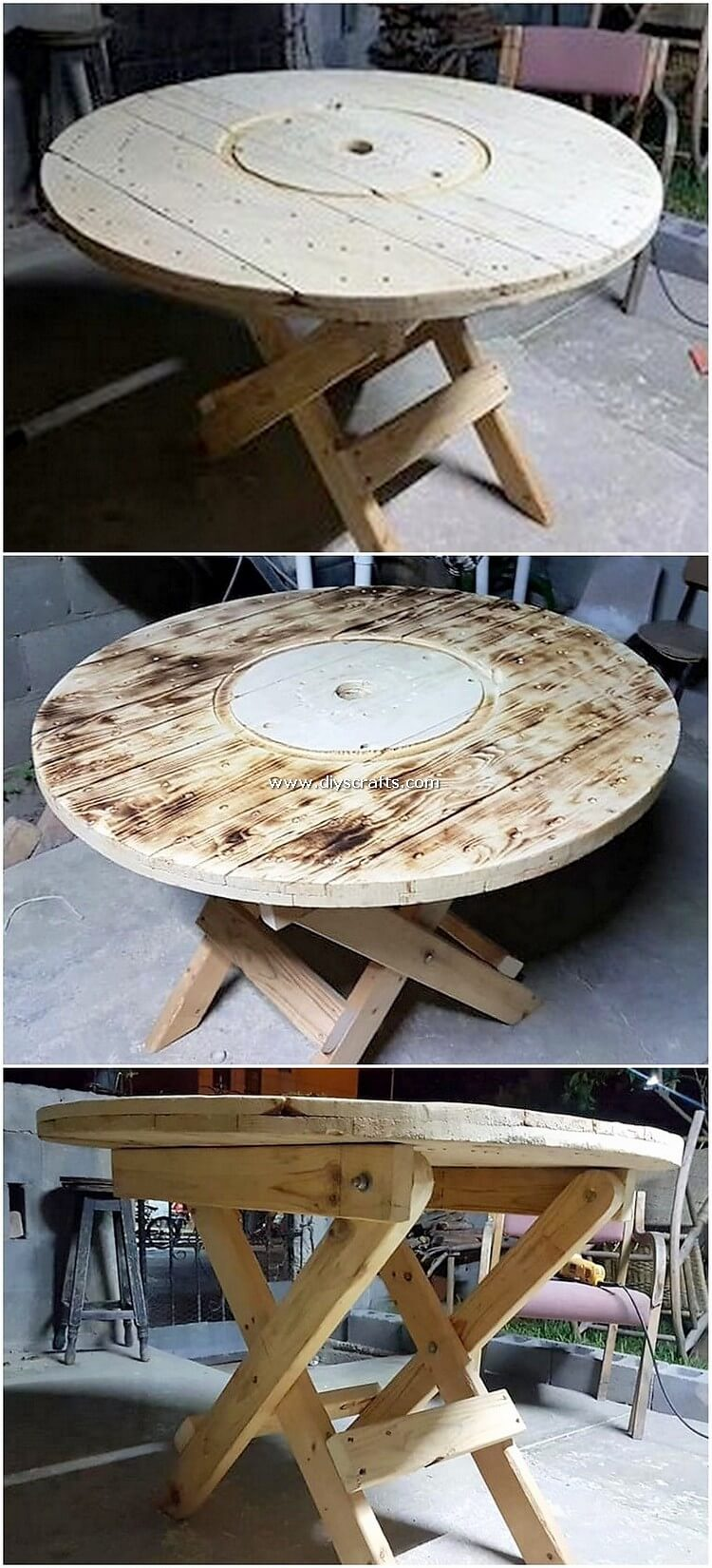 Round-Top-Pallet-Table