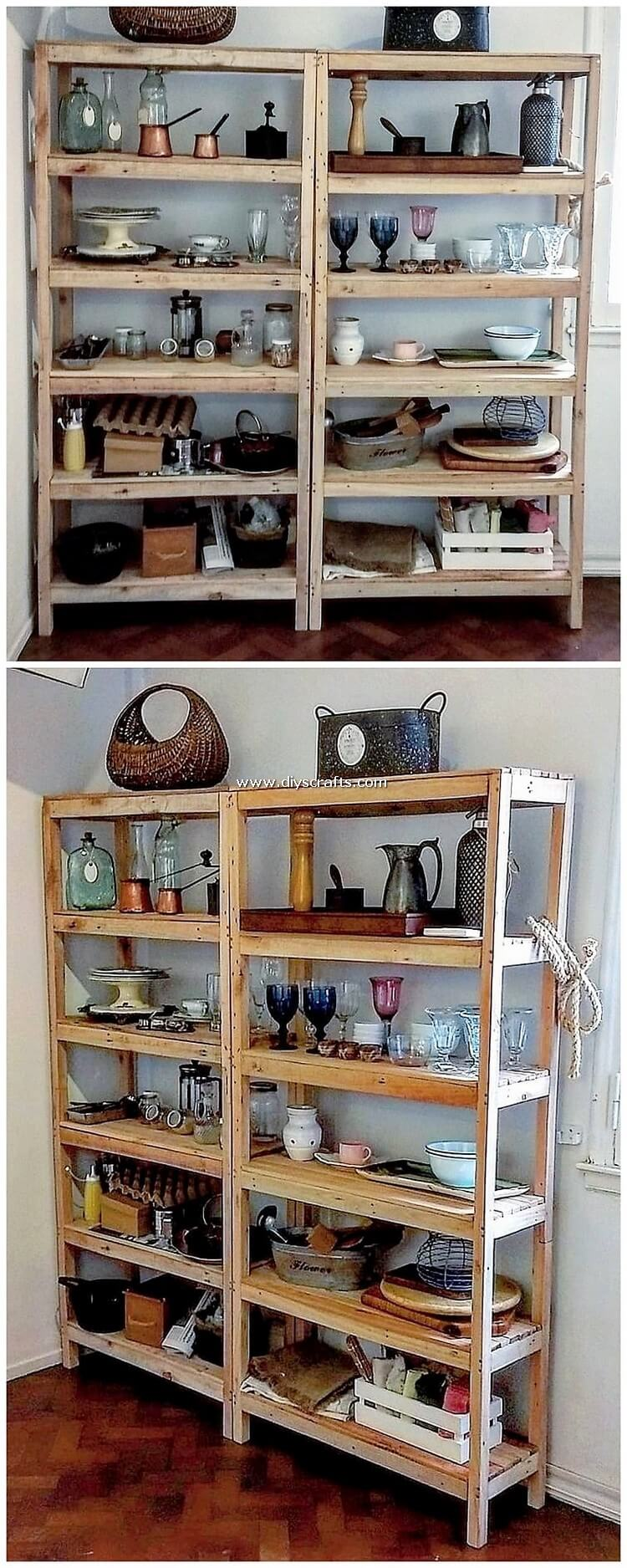 Wood-Pallet-Shelving-Unit