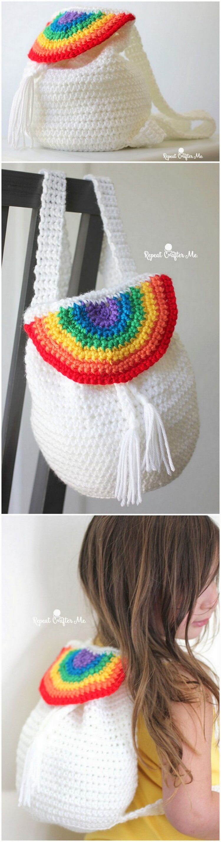 Crochet Backpack Pattern (10)