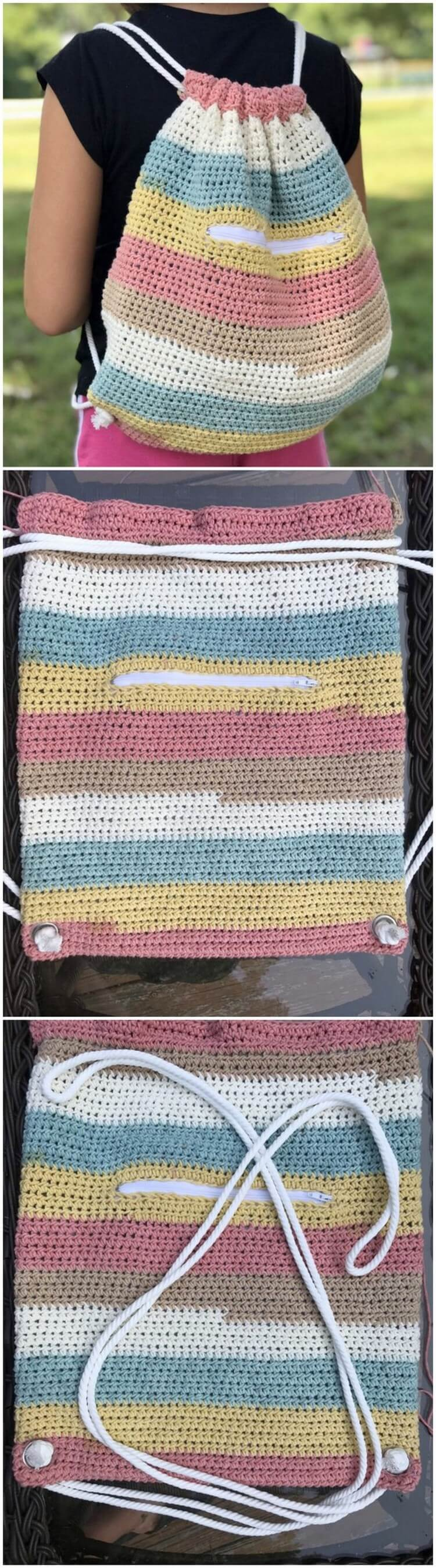 Crochet Backpack Pattern (12)
