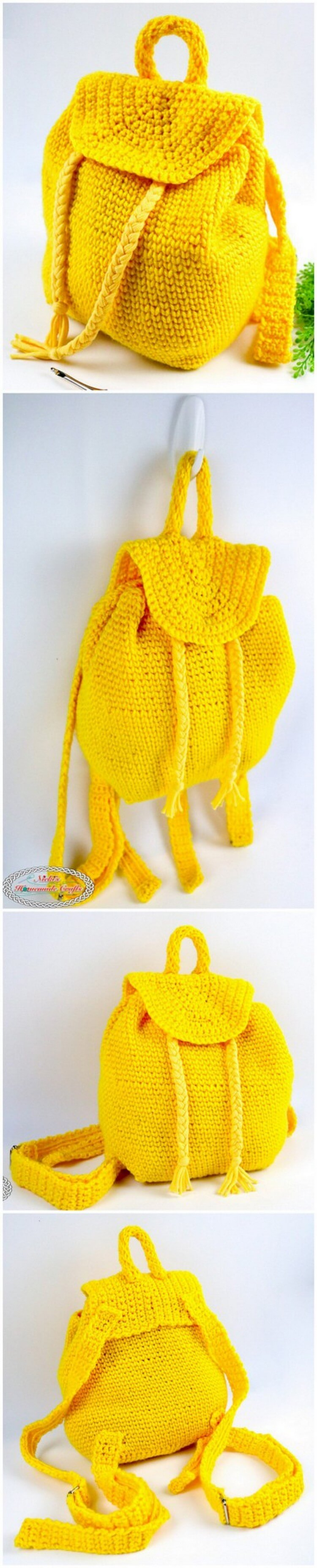 Crochet Backpack Pattern (13)