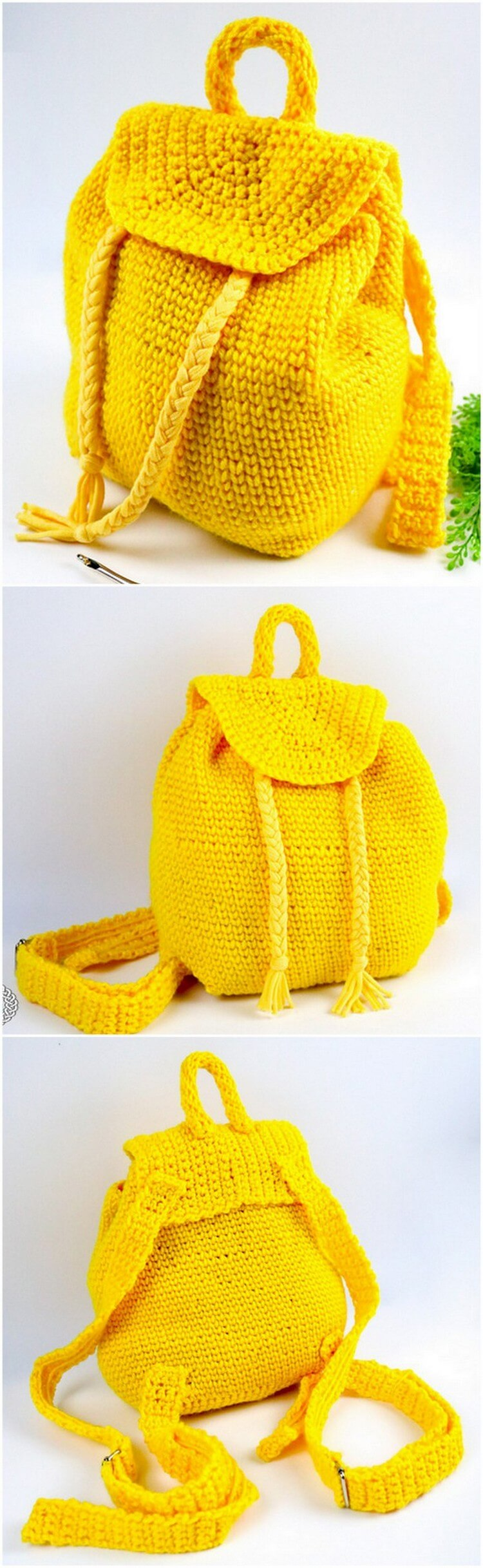 Crochet Backpack Pattern (14)
