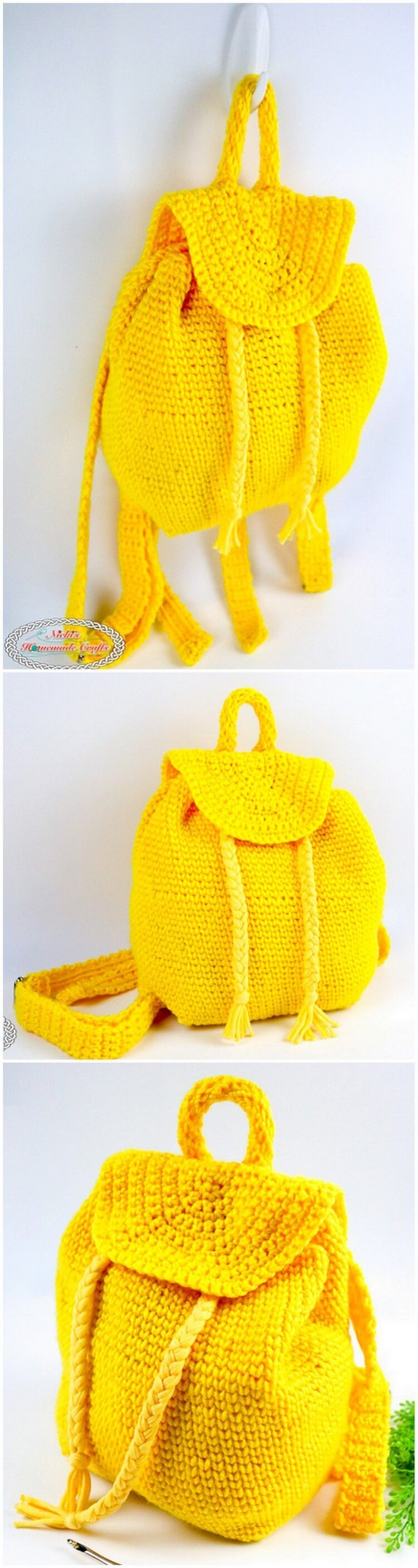 Crochet Backpack Pattern (15)