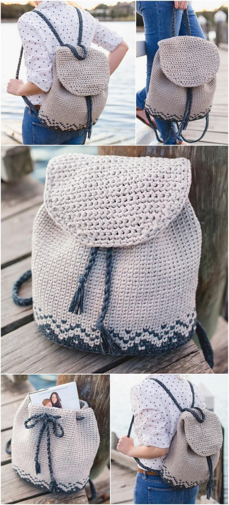 Crochet Backpack Pattern (19)