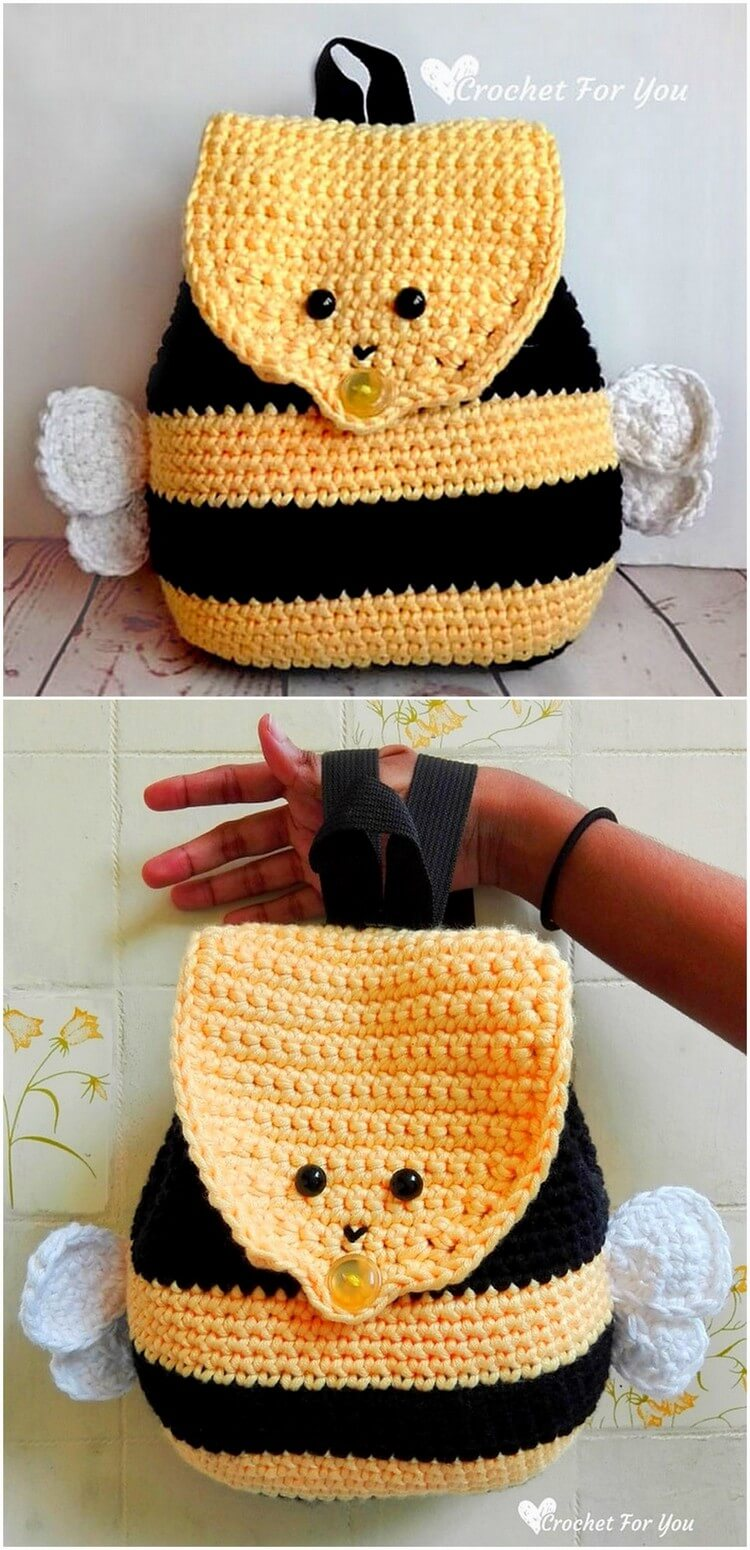 Crochet Backpack Pattern (21)