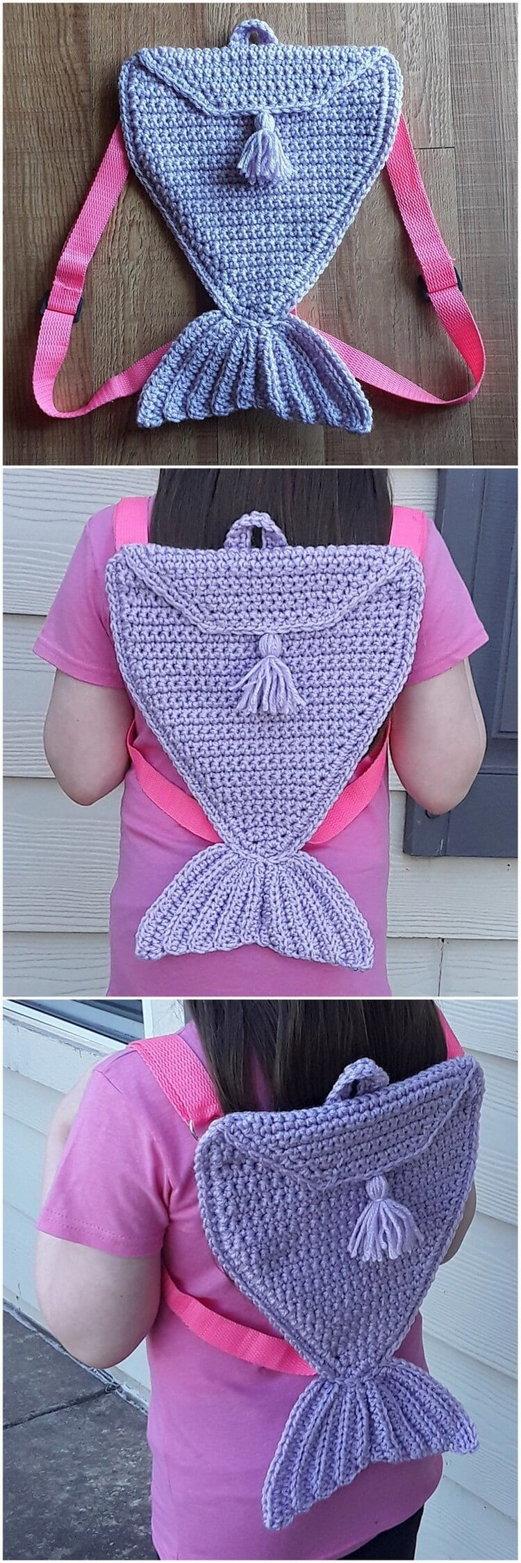 Crochet Backpack Pattern (24)