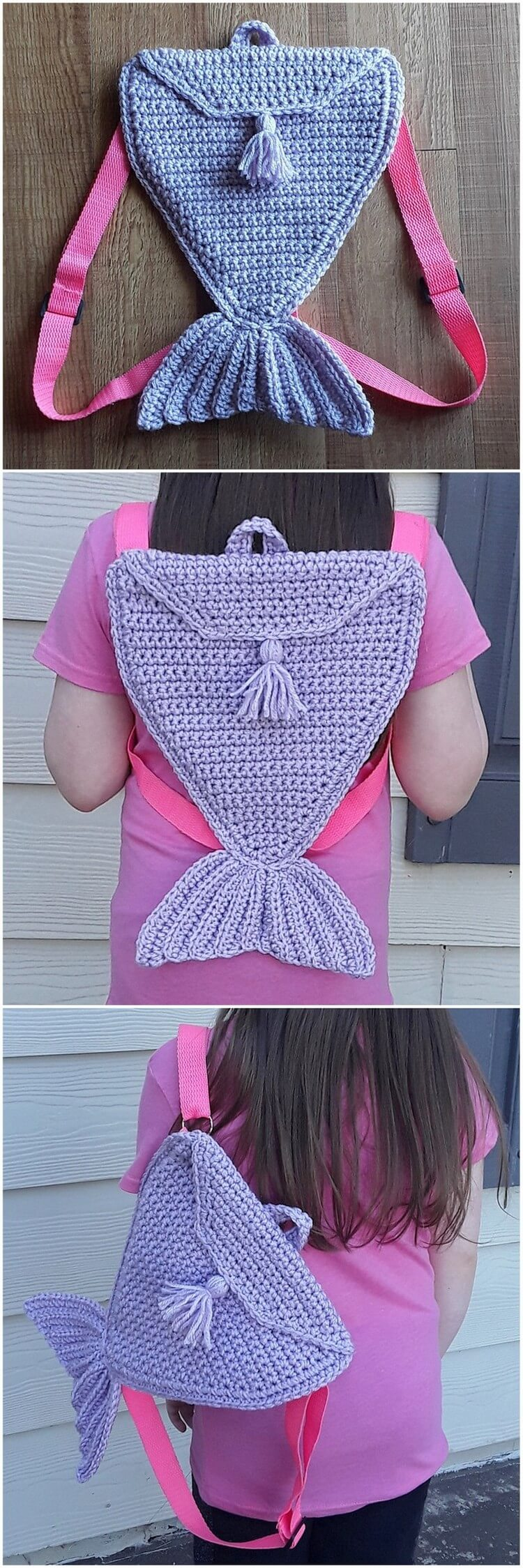 Crochet Backpack Pattern (25)