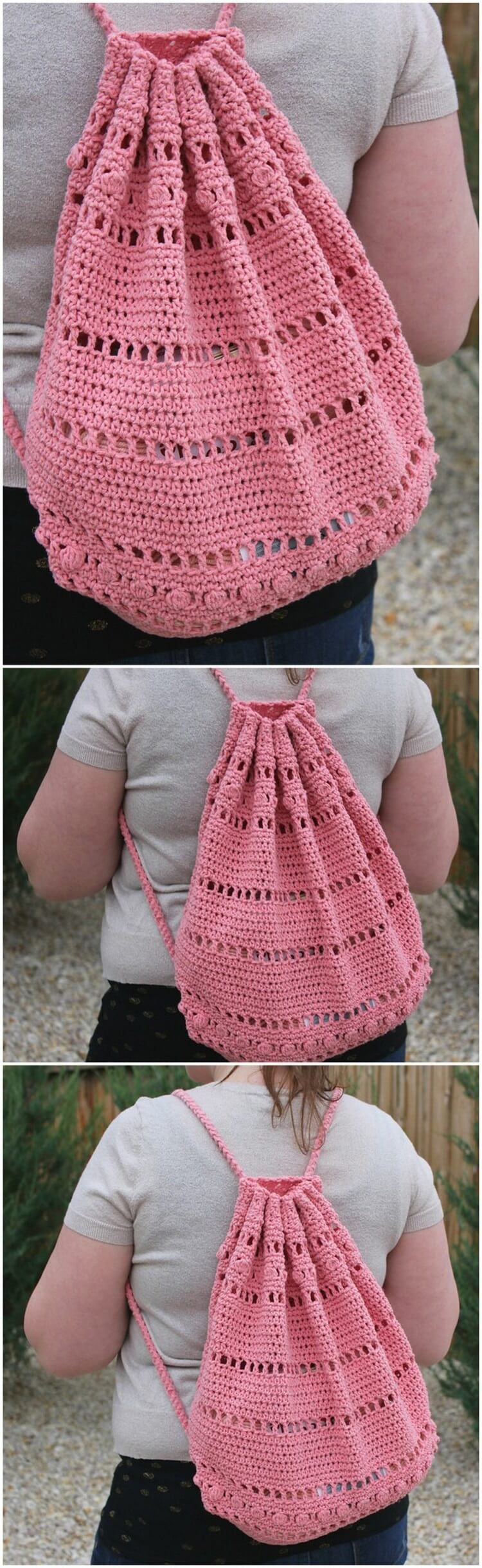 Crochet Backpack Pattern (26)