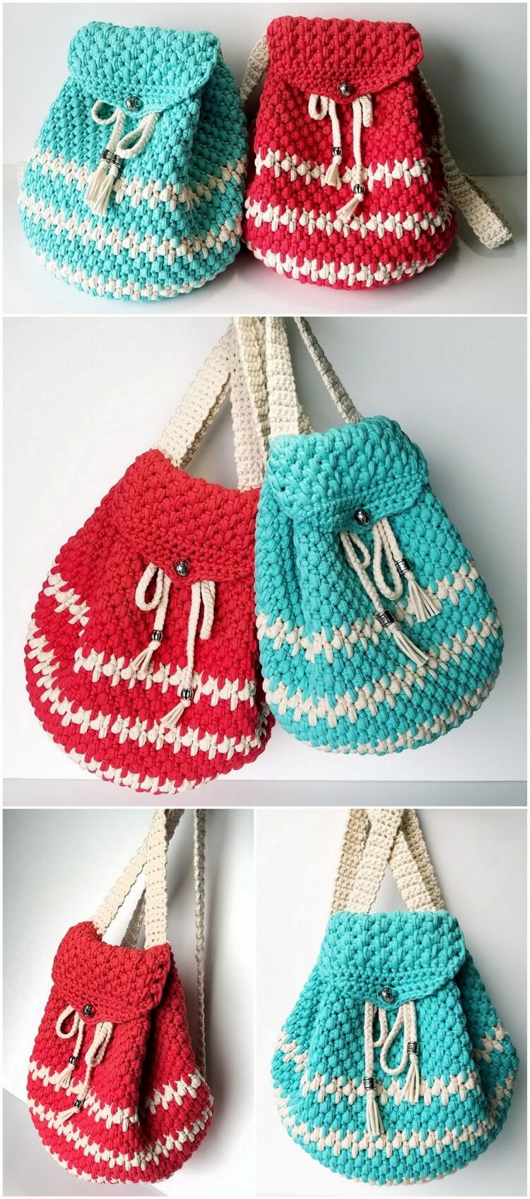 Crochet Backpack Pattern (27)