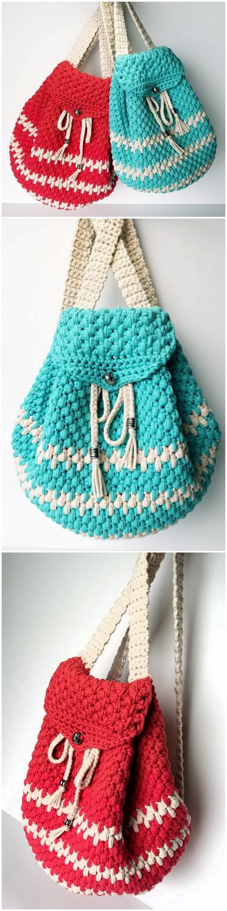 Crochet Backpack Pattern (29)