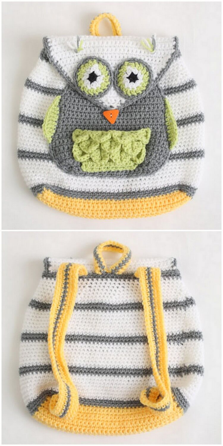 Crochet Backpack Pattern (3)