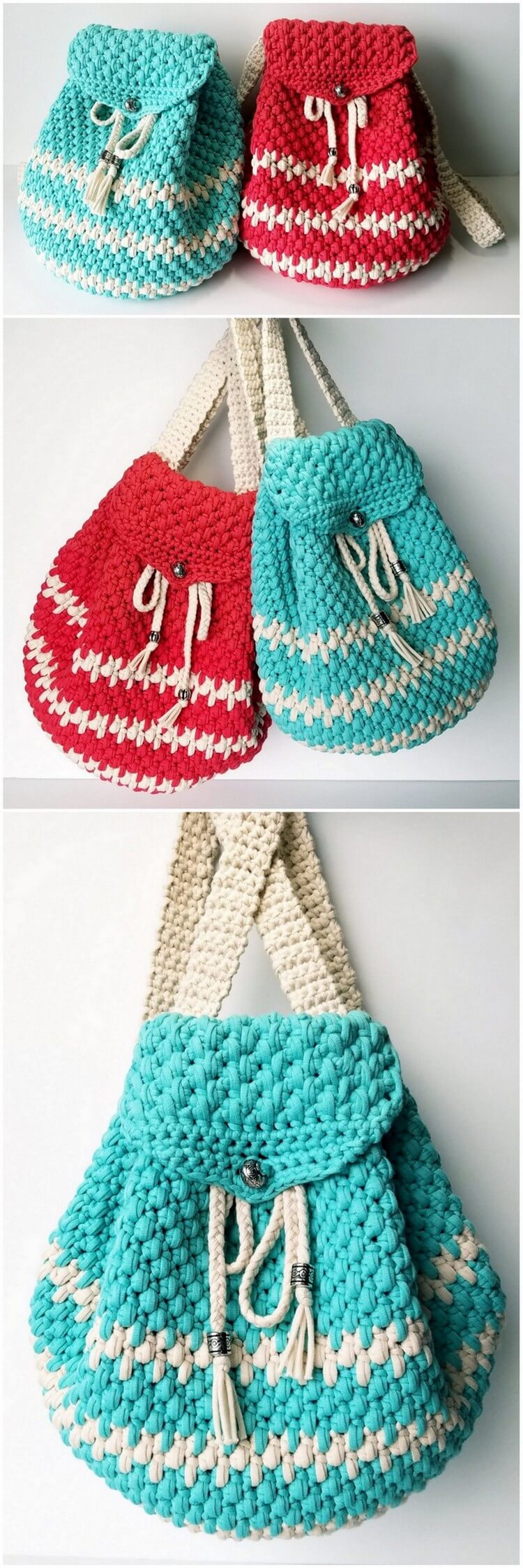 Crochet Backpack Pattern (30)