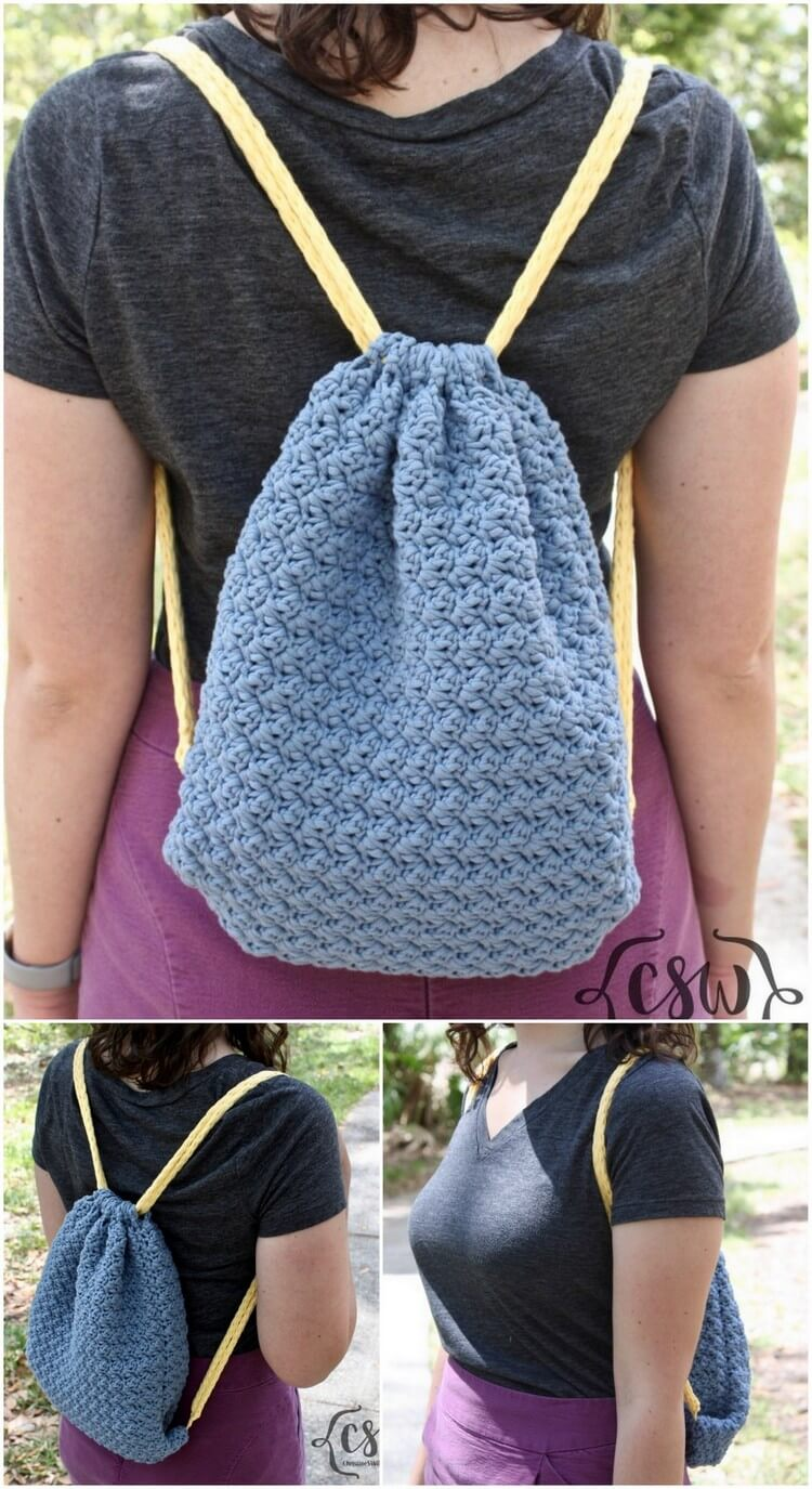 Crochet Backpack Pattern (4)