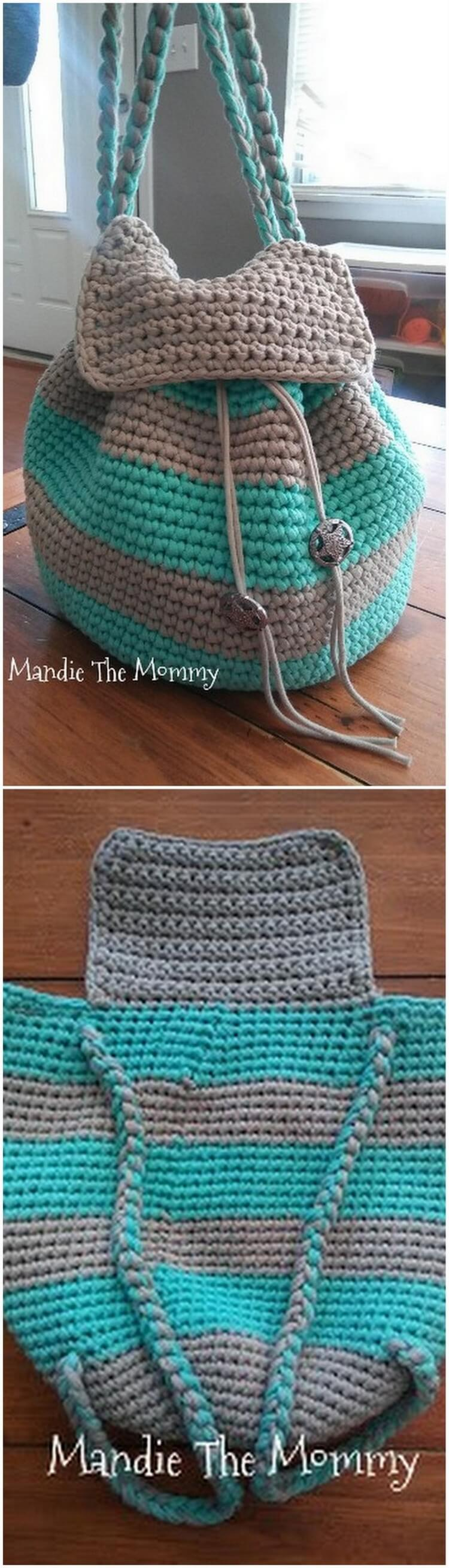 Crochet Backpack Pattern (43)