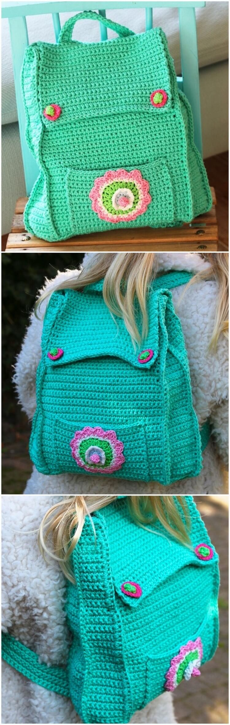 Crochet Backpack Pattern (47)