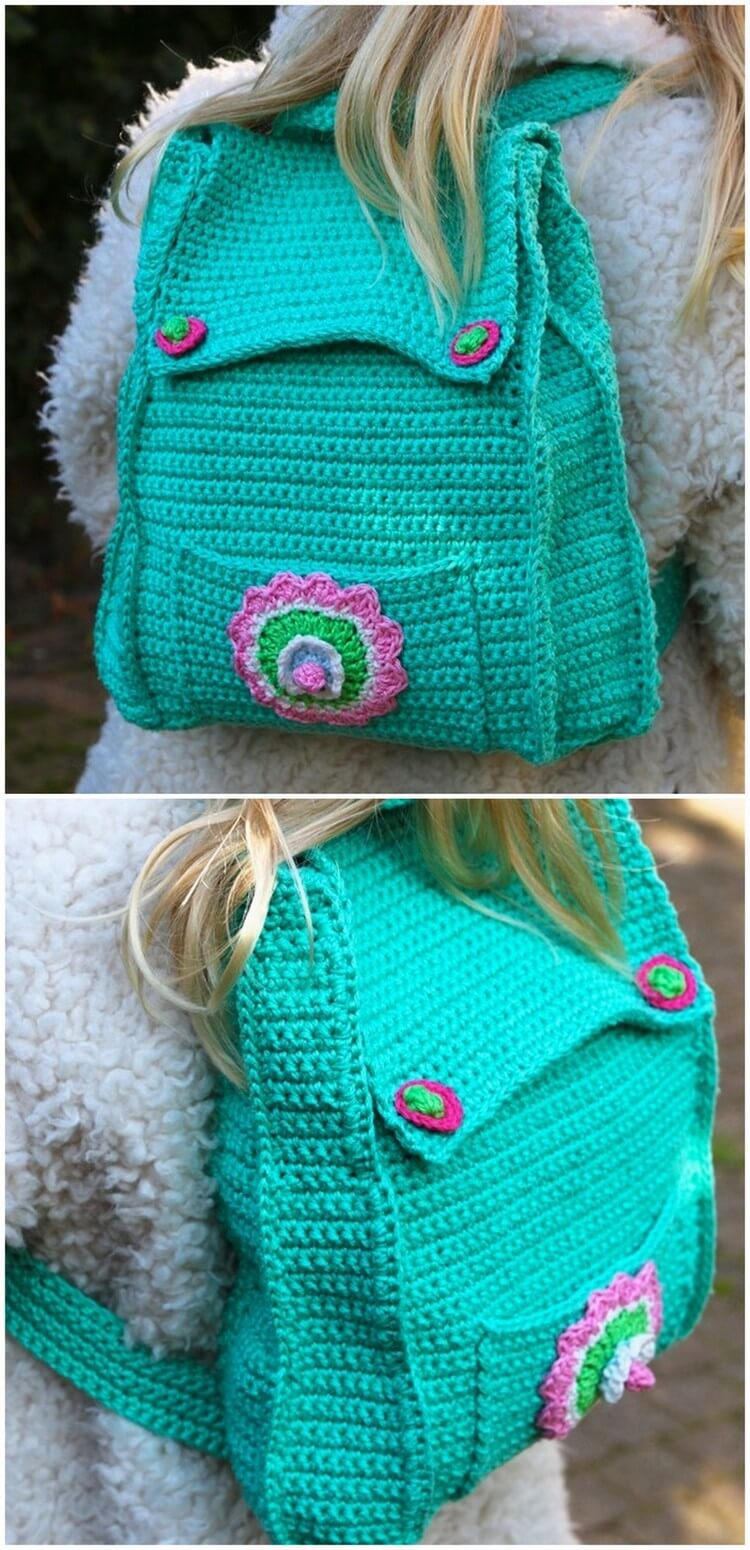 Crochet Backpack Pattern (48)