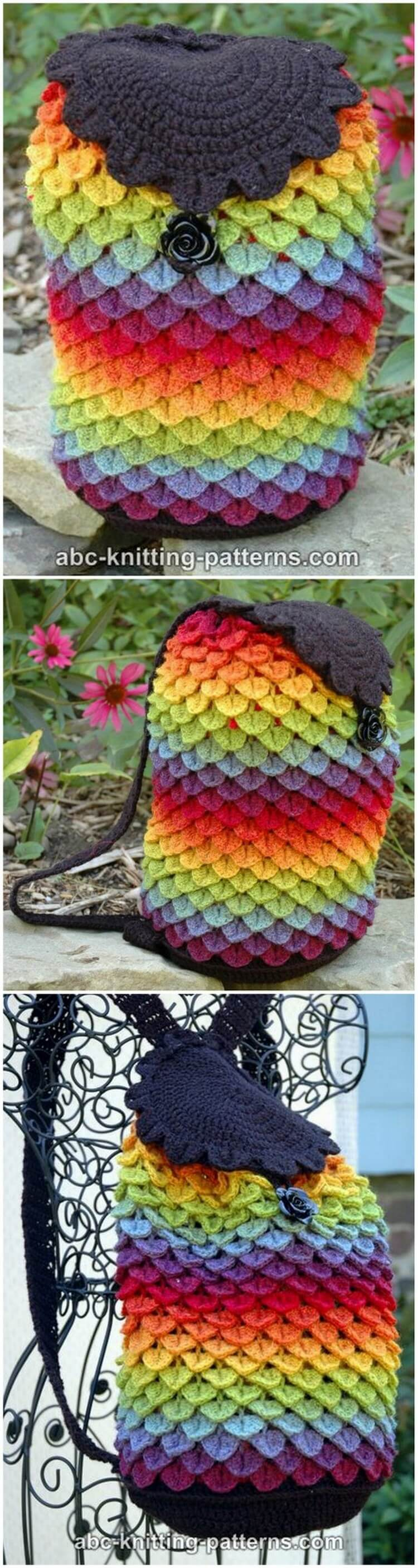 Crochet Backpack Pattern (52)