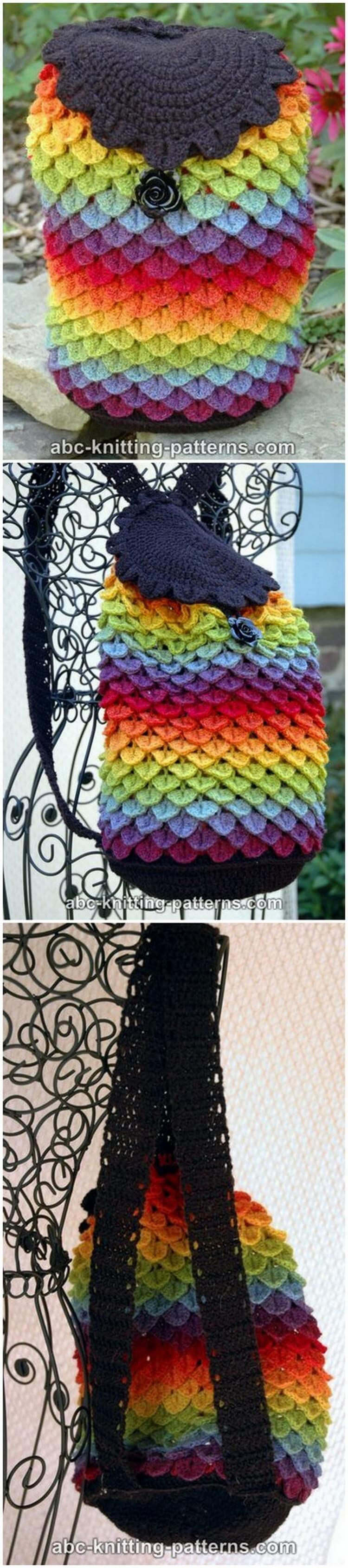 Crochet Backpack Pattern (53)