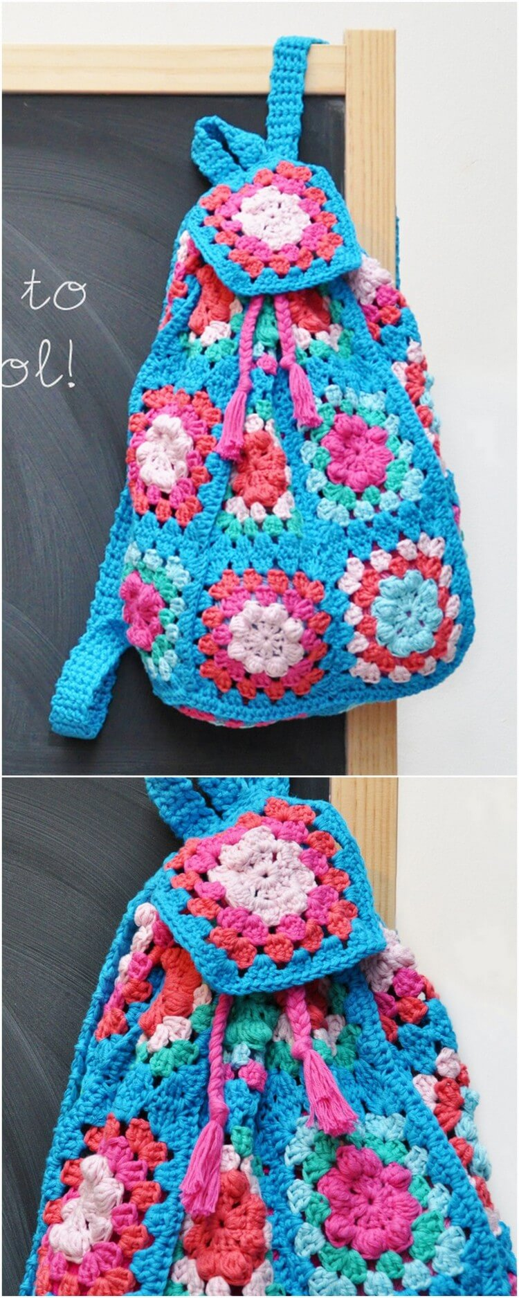 Crochet Backpack Pattern (55)