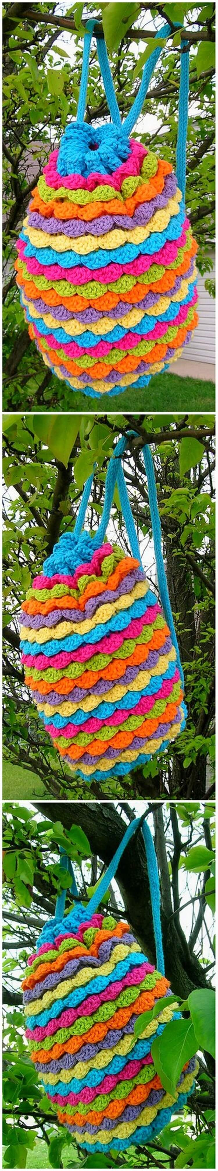 Crochet Backpack Pattern (59)
