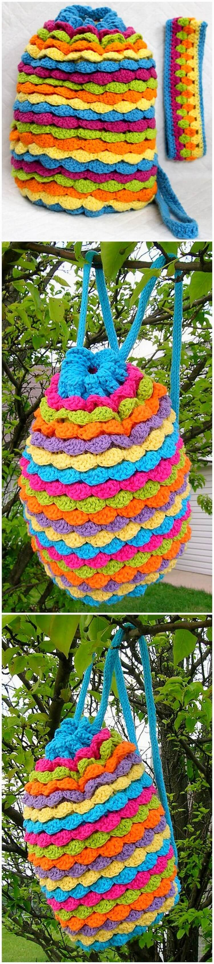 Crochet Backpack Pattern (61)