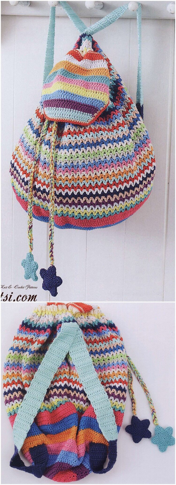 Crochet Backpack Pattern (63)
