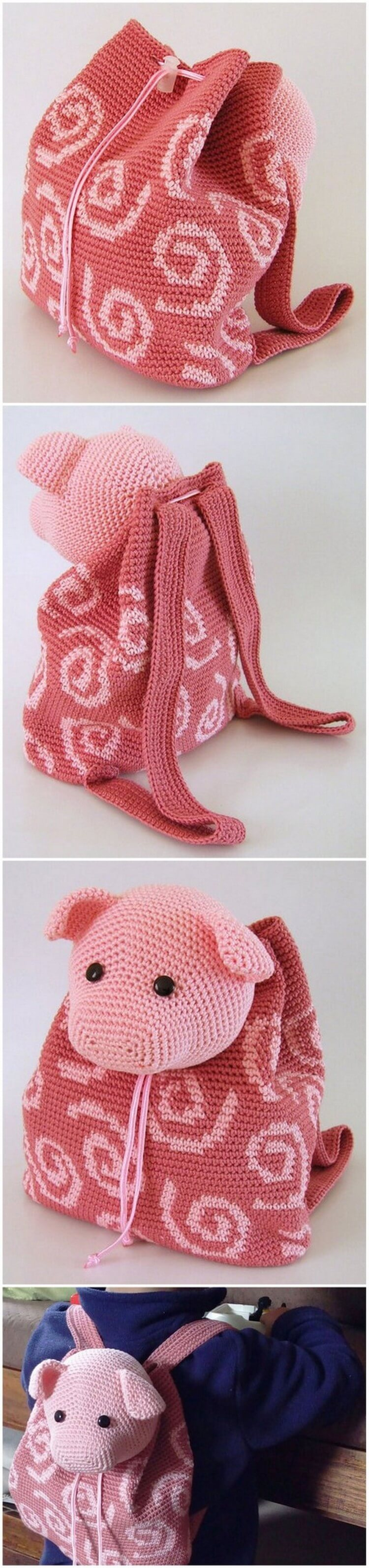 Crochet Backpack Pattern (64)