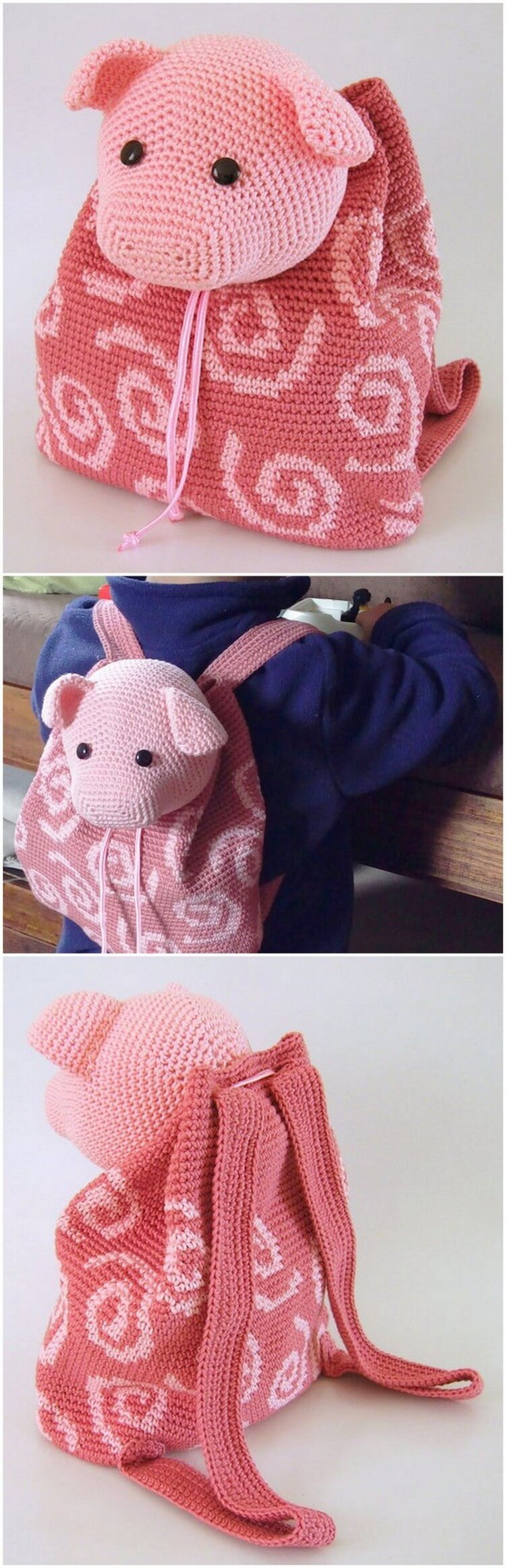 Crochet Backpack Pattern (66)