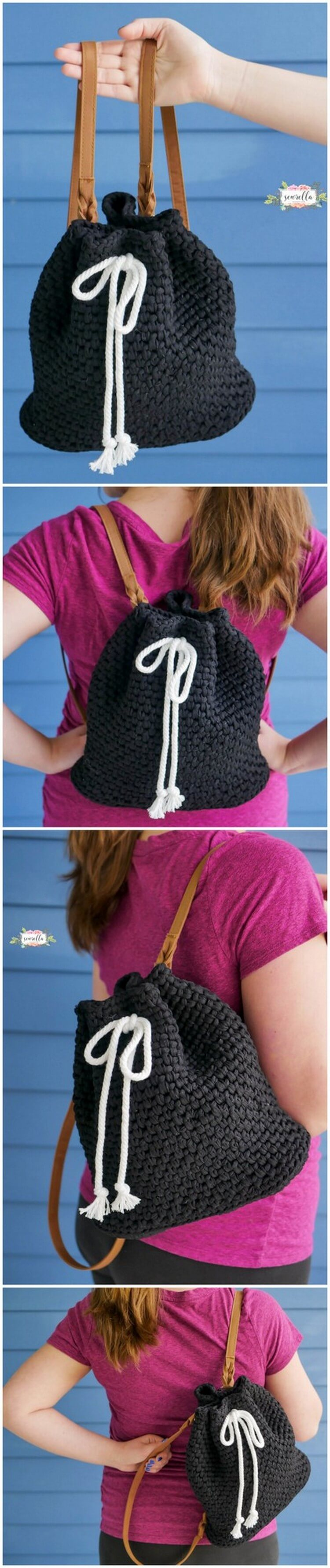 Crochet Backpack Pattern (8)