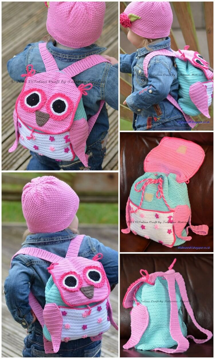 Crochet Backpack Pattern (80)