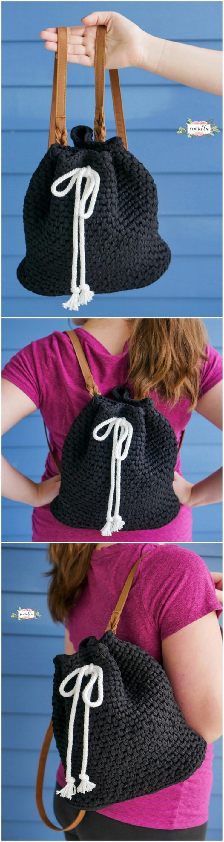 Crochet Backpack Pattern (9)